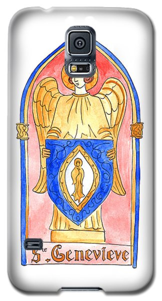 Saint Genevieve  Galaxy S5 Case