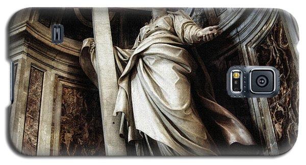 Saint Helena Statue Inside Saint Peter S Basilica Rome Italy Galaxy S5 Case