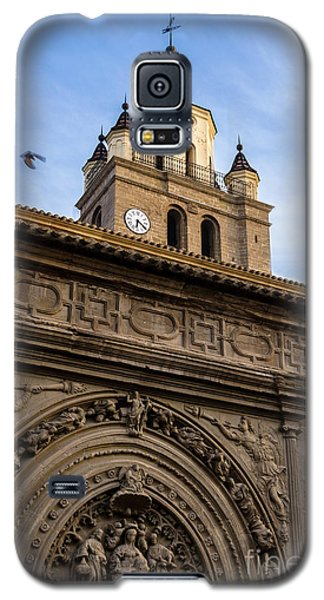Galaxy S5 Case featuring the photograph Saint Hieronymus Facade Of Calahorra Cathedral by RicardMN Photography