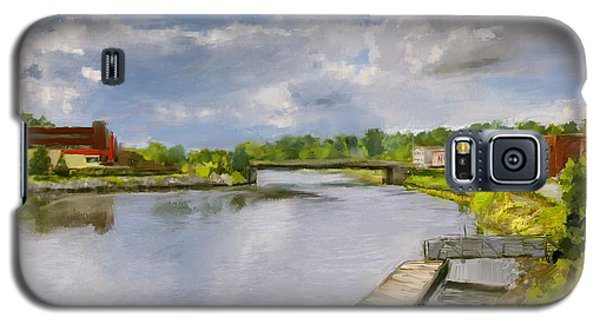 Saint John River Painting Galaxy S5 Case