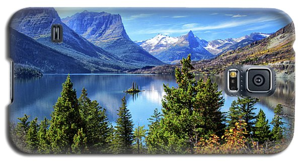 Saint Mary Lake In Glacier National Park Galaxy S5 Case