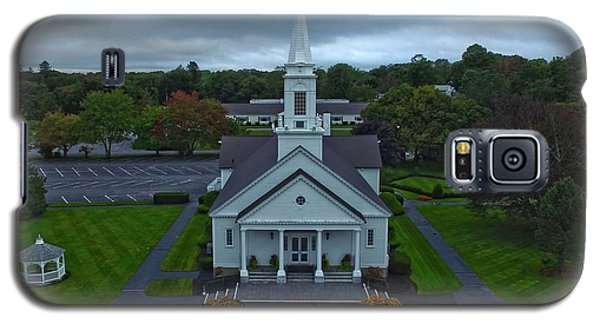 Saint Mary's Church From Above Galaxy S5 Case