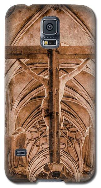 Paris, France - Saint Merri's Cross II Galaxy S5 Case