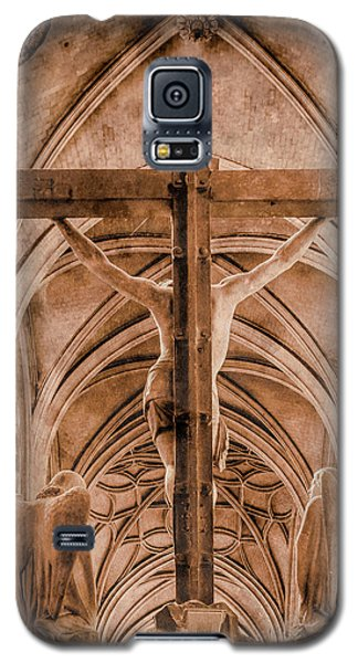 Paris, France - Saint Merri's Cross II Galaxy S5 Case