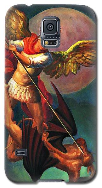 Saint Michael The Warrior Archangel Galaxy S5 Case