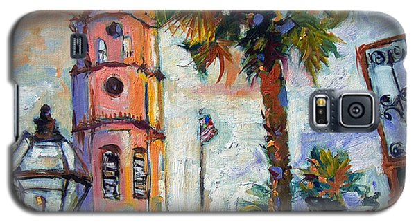 Saint Michaels Church Charleston Sc Oil Painting Galaxy S5 Case