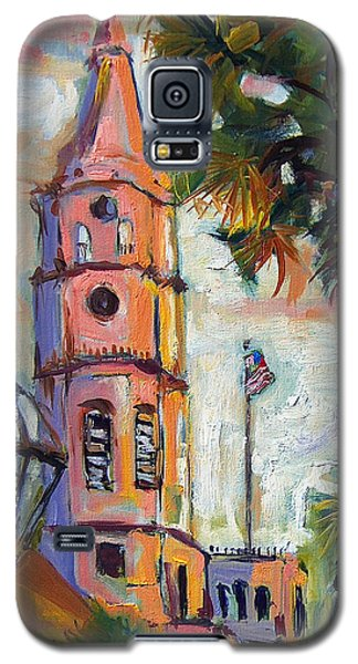 Saint Michaels Church Charleston Sc Oil Painting Galaxy S5 Case by Ginette Callaway
