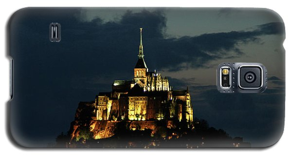 Galaxy S5 Case featuring the photograph Saint Michel Mount After The Sunset, France by Yoel Koskas
