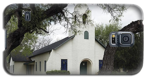 Saint Miguel Archangel Catholic Church In Little Los Ebanos Galaxy S5 Case