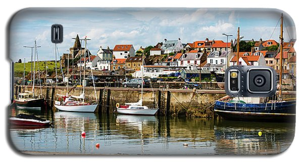 Saint Monans Harbour Galaxy S5 Case by MaryJane Armstrong