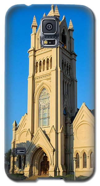 Saint Patrick Catholic Church Of Galveston Galaxy S5 Case by Tikvah's Hope