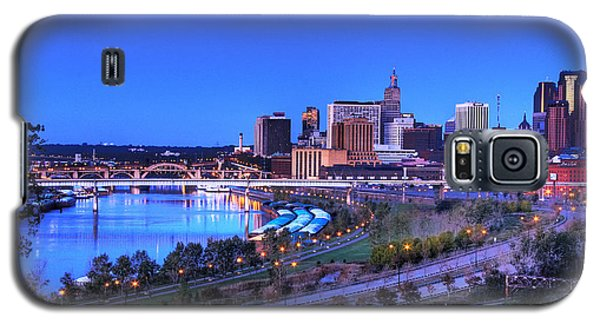 Saint Paul Minnesota Skyline Blue Morning Light Galaxy S5 Case