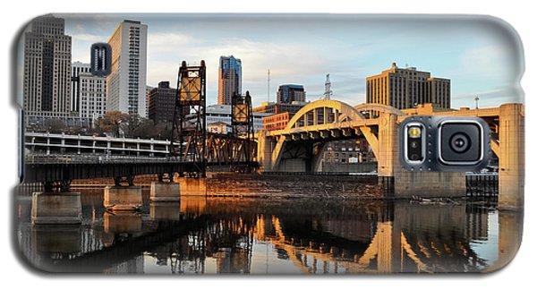 Saint Paul Mississippi River Sunset Galaxy S5 Case