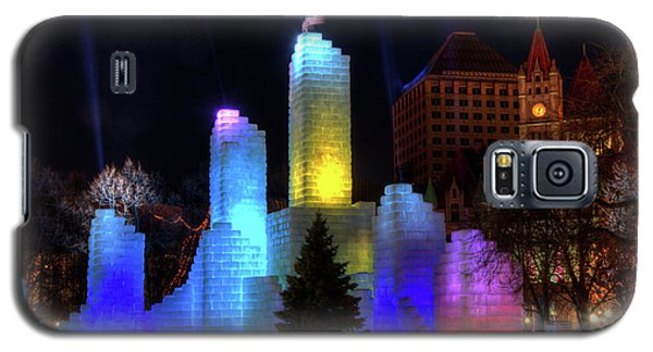 Saint Paul Winter Carnival Ice Palace 2018 Lighting Up The Town Galaxy S5 Case
