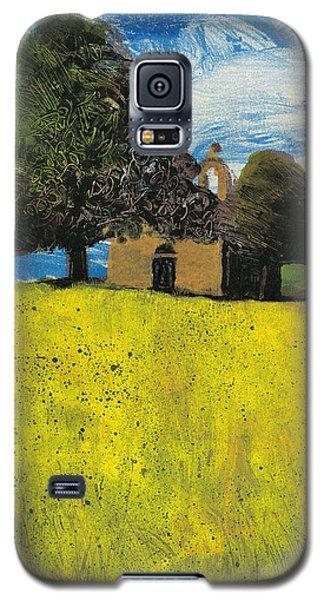 Galaxy S5 Case featuring the painting Saint Pierre At Pierrerue by Martin Stankewitz