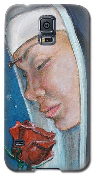 Saint Rita Of Cascia Galaxy S5 Case by Bryan Bustard