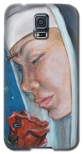 Saint Rita Of Cascia Galaxy S5 Case