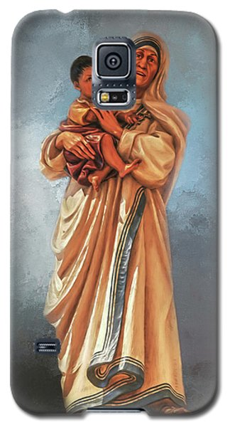 Galaxy S5 Case featuring the photograph Saint Teresa Of Calcutta by Donna Kennedy