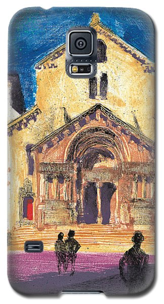 Saint Trophime Arles Provence Galaxy S5 Case by Martin Stankewitz