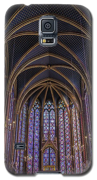 Sainte Chapelle Stained Glass Paris Galaxy S5 Case