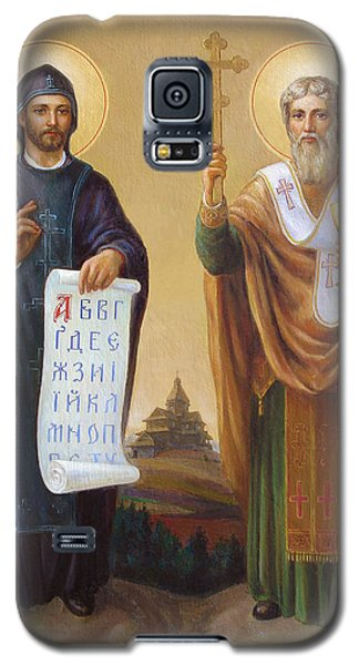 Saints Cyril And Methodius - Missionaries To The Slavs Galaxy S5 Case by Svitozar Nenyuk