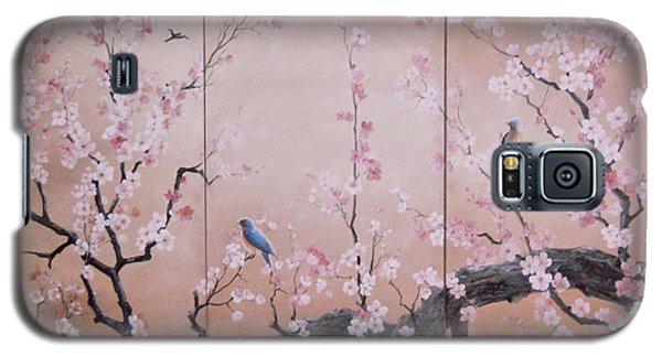 Sakura - Cherry Trees In Bloom Galaxy S5 Case by Sorin Apostolescu