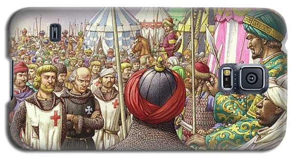 Saladin Orders The Execution Of Knights Templars And Hospitallers  Galaxy S5 Case