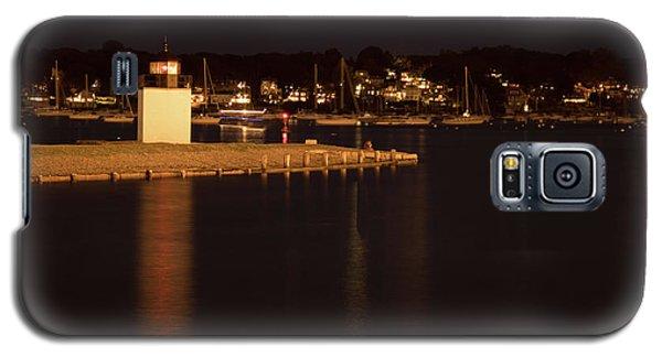 Salem Harbor At Night Galaxy S5 Case