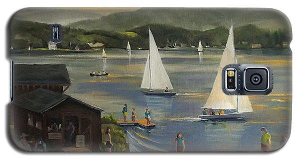 Sailing At Lake Morey Vermont Galaxy S5 Case