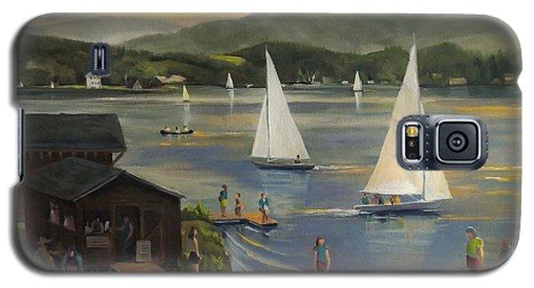 Sailing At Lake Morey Vermont Galaxy S5 Case