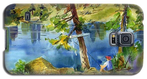 Salmon Lake Fisherman Galaxy S5 Case
