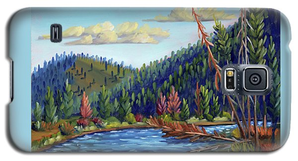 Salmon River - Stanley Galaxy S5 Case