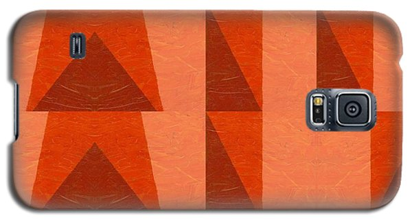 Salmon With Red And Brown Galaxy S5 Case by Michelle Calkins
