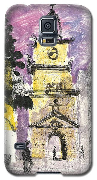 Galaxy S5 Case featuring the painting Salon De Provence by Martin Stankewitz