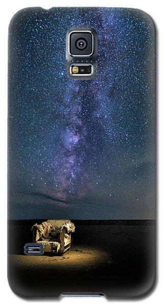 Salt Flats Milky Way Chair Galaxy S5 Case