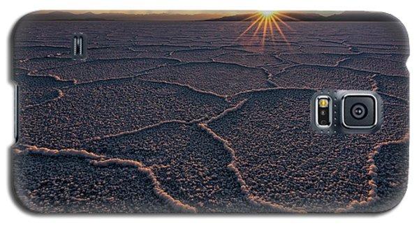 Salt Flats Sunset Galaxy S5 Case