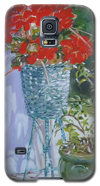 Galaxy S5 Case featuring the painting Salt Island Hideaway by Julie Todd-Cundiff
