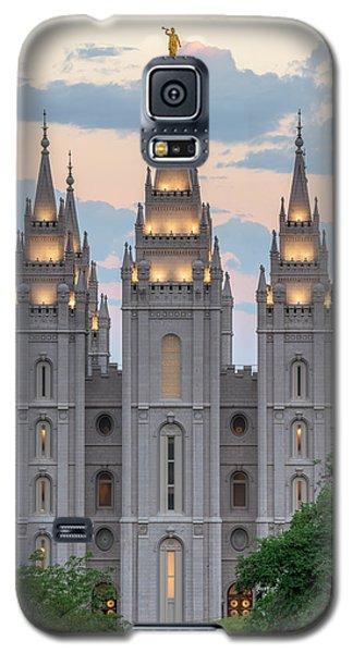 Salt Lake City Temple Morning Galaxy S5 Case