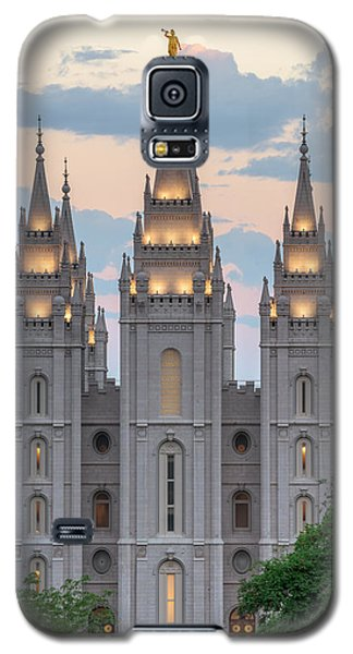 Salt Lake City Temple Morning Galaxy S5 Case