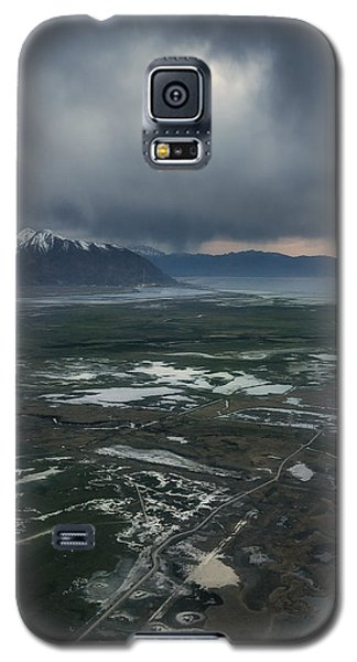 Galaxy S5 Case featuring the photograph Salt Lake Drama by Ryan Manuel
