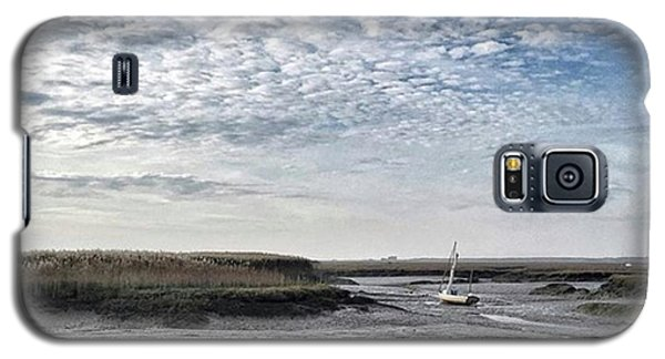 Salt Marsh And Creek, Brancaster Galaxy S5 Case