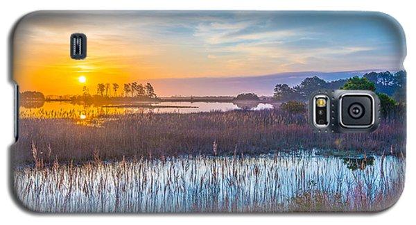 Salt Marsh Sunrise II Galaxy S5 Case by Steven Ainsworth