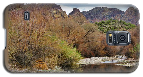 Salt River Pebble Beach Galaxy S5 Case