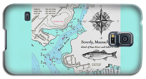 Salter's Point Map Galaxy S5 Case