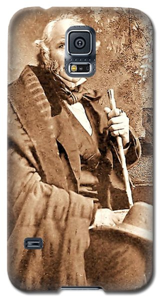 Sam Houston Galaxy S5 Case by Pg Reproductions
