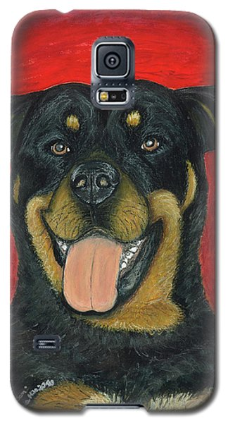 Sam The Rottewieler Galaxy S5 Case