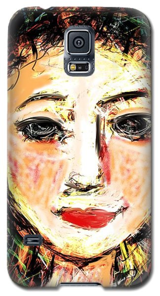 Samantha Galaxy S5 Case by Elaine Lanoue
