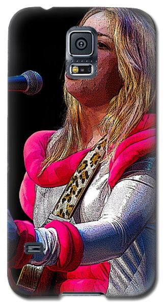 Galaxy S5 Case featuring the photograph Samantha Fish by Jim Mathis
