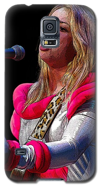 Samantha Fish Galaxy S5 Case by Jim Mathis