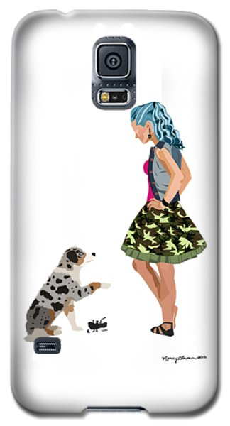 Samantha Galaxy S5 Case